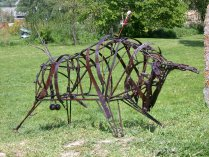 Toro métallique (fer de récupération)