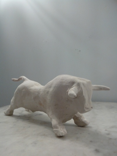 Petit Toro (terre cuite)
