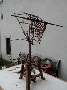 Tête de Toro (fer et bois)