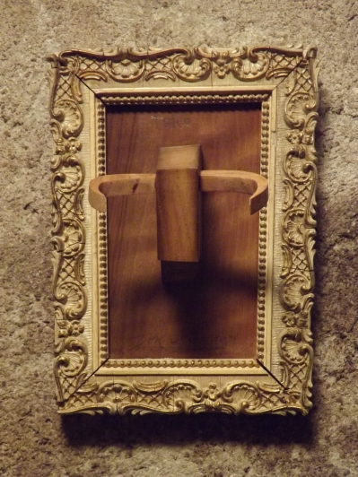 Tête de Toro (bois, peinture)