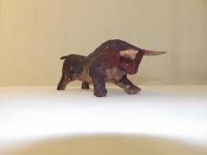 Petit Toro (terre cuite, engobe)